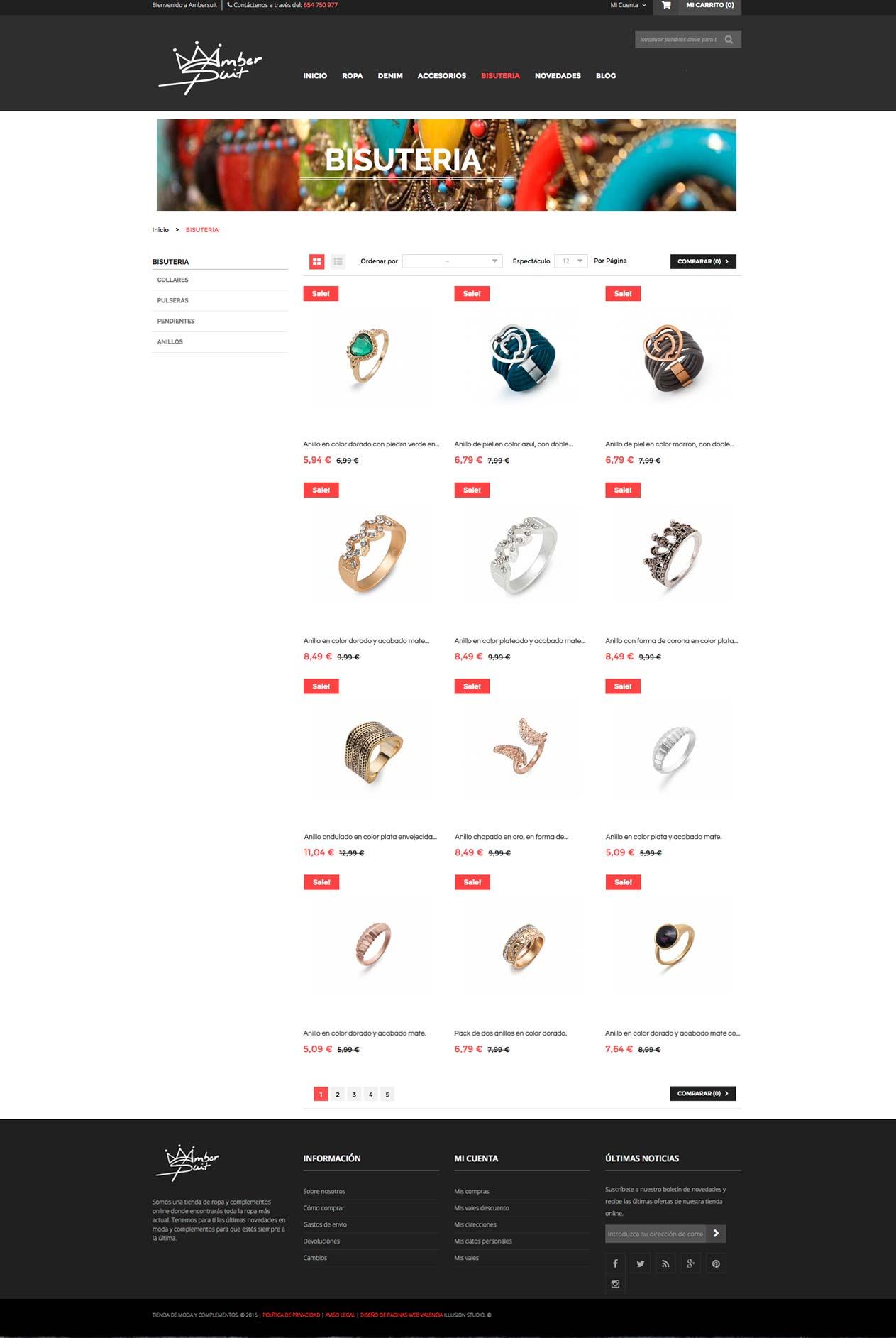 Tienda Online Amber Suit imagen 4